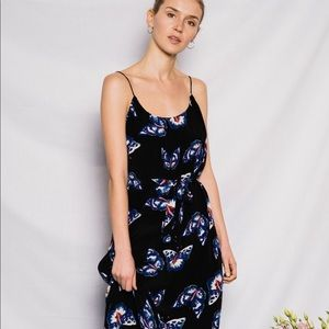 NEW • Tucker • The Cami Maxi Dress Jardin XS
